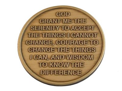 Serenity Prayer in addiction treatment